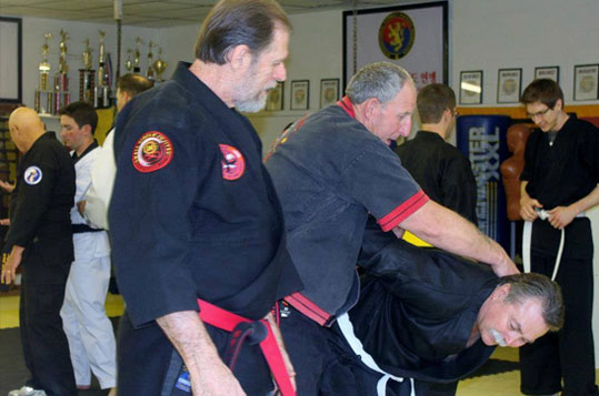 Small Circle Jujitsu Seminar Camps